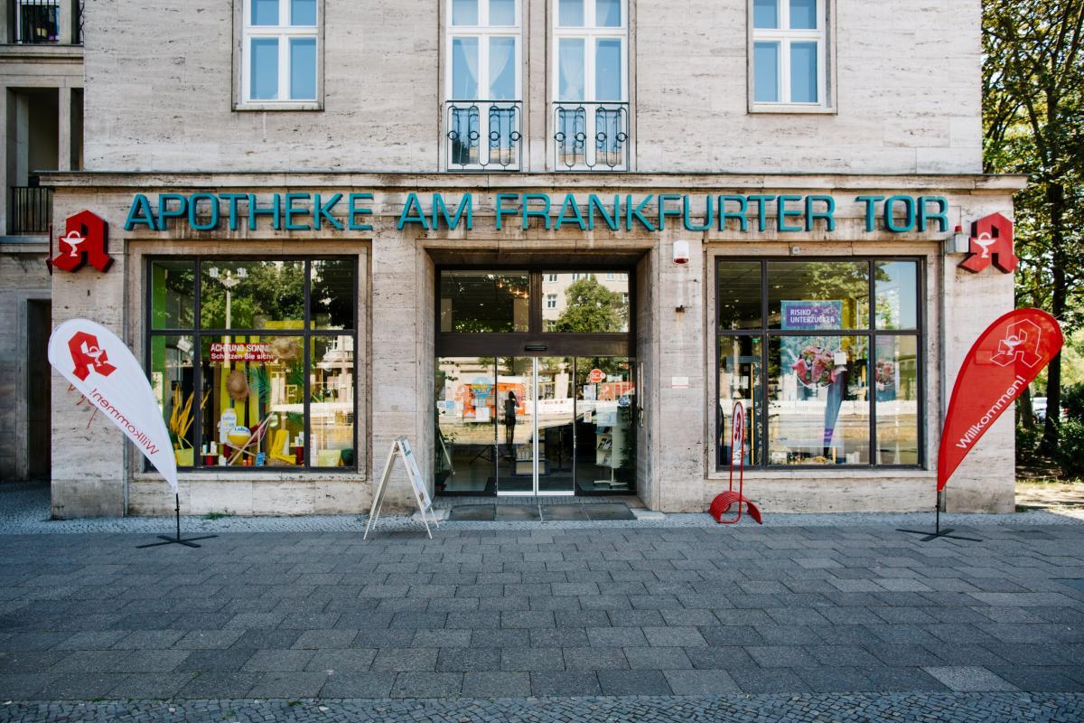 Unsere Apotheke im Herzen von Friedrichshain